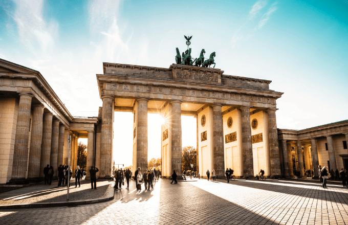 Brandenburger Tor in Berlin am Pariser Platz