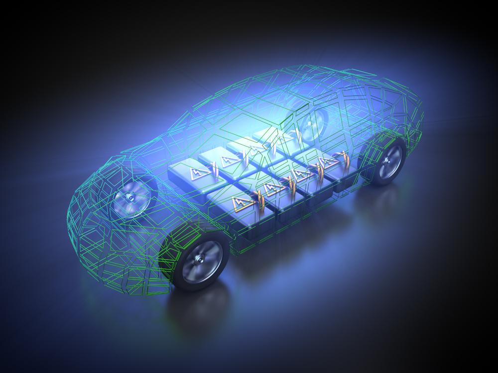 modèle de véhicule électrique avec une batterie électrique dans le secteur de la mobilité allemand