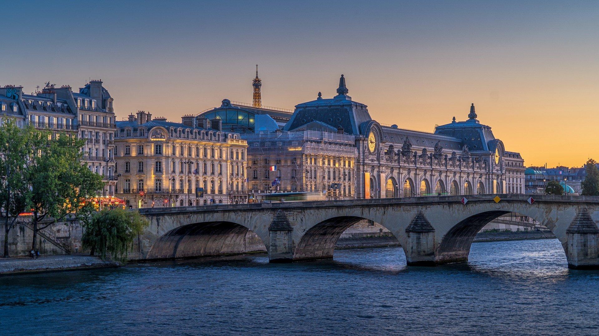 die Stadt Paris, Symbol des französischen Marktes